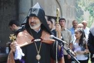 Վայոց ձորի թեմի առաջնորդ Գերաշնորհ Տեր Աբրահամ եպիսկոպոս Մկրտչյան